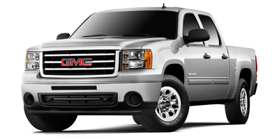 2013 GMC SIERRA 1500 CREW CAB SHORT BOX 4-speed automatic electronically controlled with od and t