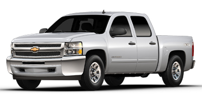 2013 CHEVROLET SILVERADO 1500 CREW CAB SHORT BOX 4-Speed Automatic Electronically Controlled With