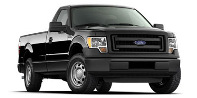 2013 FORD F-150 2WD REGULAR CAB 145 6-Speed Electronic Automatic WOD  TowHaul Mode 50l v8 ffv