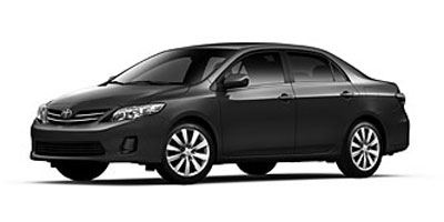 2013 TOYOTA COROLLA 4-Speed Automatic 18L I4 DOHC 4-Speed Automatic 18L I4 DOHC Dual VVT-i Fro