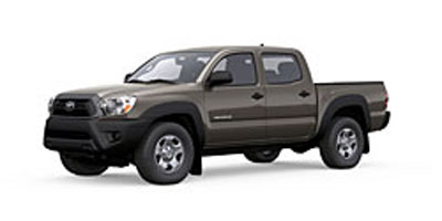 2013 TOYOTA TACOMA 2WD DOUBLE CAB SHORT 4-speed electronically controlled automatic wect-i 27