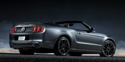 2014 FORD MUSTANG CONVERTIBLE GT 6-Speed Manual 50L 4V Ti-VCT V8 Rear-Wheel Drive 4-Way Passen
