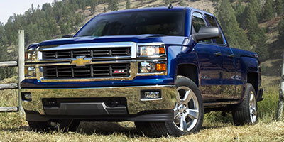 2015 CHEVROLET SILVERADO 1500 2WD DOUBLE CAB 1435 LT 6-Speed Automatic Electronically Controlled