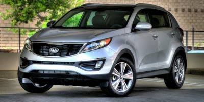 2015 KIA SPORTAGE AWD LX 6-Speed Automatic 24L 4 Cylinder Engine Automatic Full-Time All-Wheel