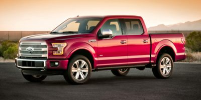 2015 FORD F-150 2WD SUPERCREW Automatic 50L 8 Cylinder Engine Rear-Wheel Drive Front Cupholder