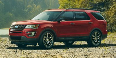 2017 Ford Explorer Platinum #HK8H9027*O The Woodlands
