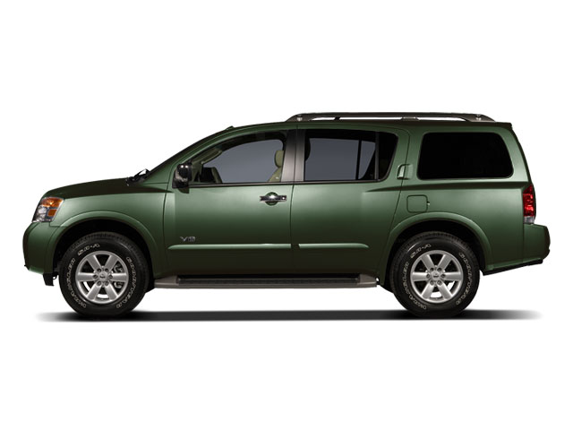 2009 NISSAN ARMADA 5-Speed AT 56L 8 Cylinder Eng 5-Speed AT 56L 8 Cylinder Engine Rear Wheel