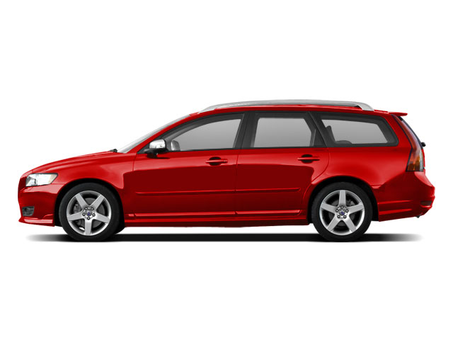 2010 VOLVO V50 WAGON AUTOMATIC FWD 5-speed at 24l 5 cylinder engine front wheel drive bluetoot