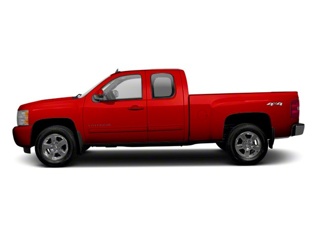 2011 CHEVROLET SILVERADO 1500 EXTENDED CAB STANDARD BOX 4-Speed AT 48L 8 Cylinder Engine Rear