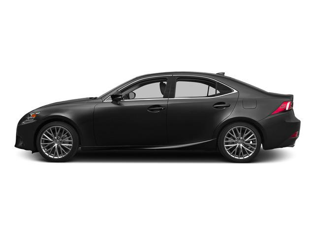 2015 LEXUS IS 250 SPORT SEDAN RWD Electronic 6-Speed Ect-I Automatic 25L V6 DOHC 24V VVT-i Rear