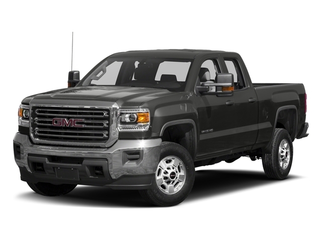 2018 GMC SIERRA 2500HD DOUBLE CAB STANDARD BOX 6-Speed Automatic Heavy-Duty Electronically Contr