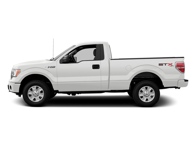 2014 FORD F-150 4x2 XL 2dr Regular Cab Styleside 8 ft LB Split Bench Seat AC Adjustable Steerin