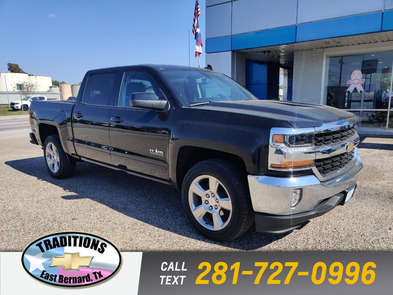 2018 Chevrolet Silverado 1500 Crew Cab Short Box 2-Wheel Dri photo