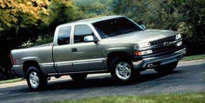 2000 Chevrolet Silverado 1500 4WD Extended Cab Standard Box LS
